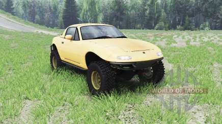 Mazda Miata 4x4 1997 for Spin Tires