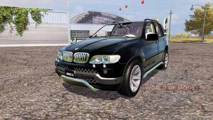 BMW X5 4.8is (E53) for Farming Simulator 2013