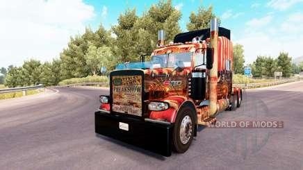Creepy Carnevil skin for the truck Peterbilt 389 for American Truck Simulator