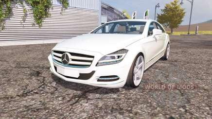 Mercedes-Benz CLS-Klasse (C218) v2.0 for Farming Simulator 2013