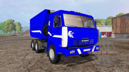 KamAZ 55111 v3.0 for Farming Simulator 2015