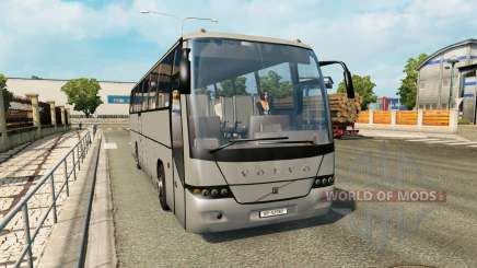 A collection of buses in traffic v1.3 for Euro Truck Simulator 2