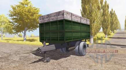 Tipper trailer v2.0 for Farming Simulator 2013