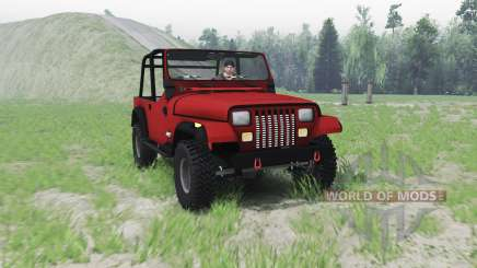 Jeep Wrangler (YJ) 1996 for Spin Tires