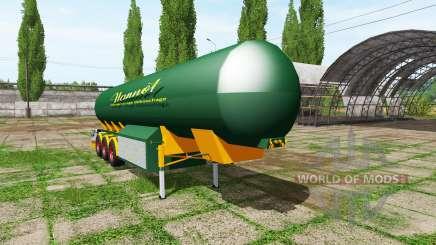 Manure trailer for Farming Simulator 2017