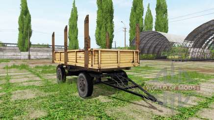 Timber trailer automatic loading for Farming Simulator 2017