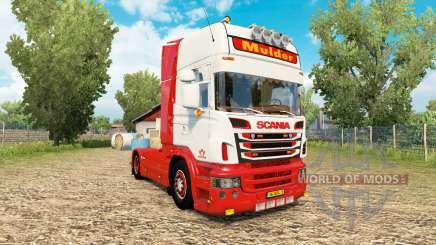 Scania R-series V8 Mulder for Euro Truck Simulator 2