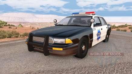 Gavril Grand Marshall SFPD for BeamNG Drive