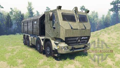 Mercedes-Benz Actros HABRV for Spin Tires