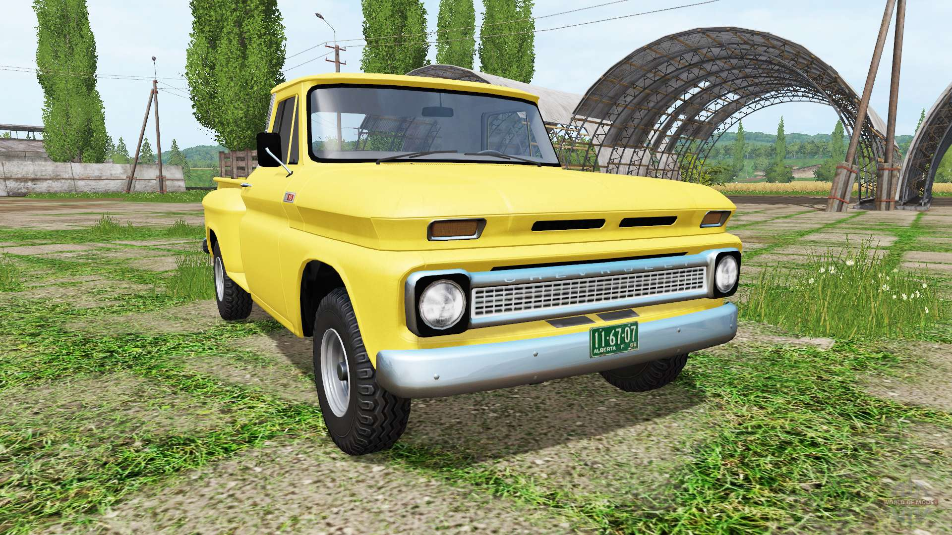 Scrap Metal Pick Up >> Chevrolet C10 Fleetside 1966 4x4 v1.1 for Farming ...