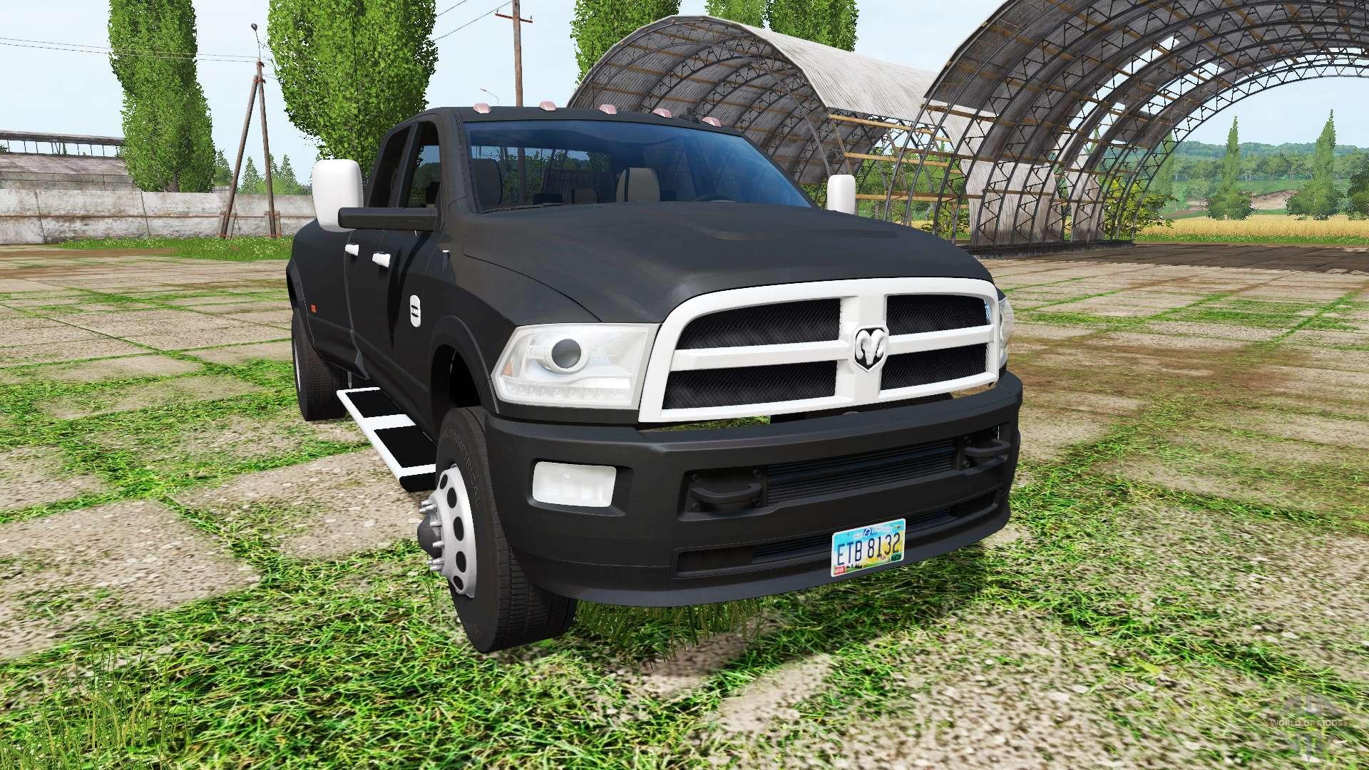 Dodge Ram 3500 v3 0 for Farming Simulator 2017