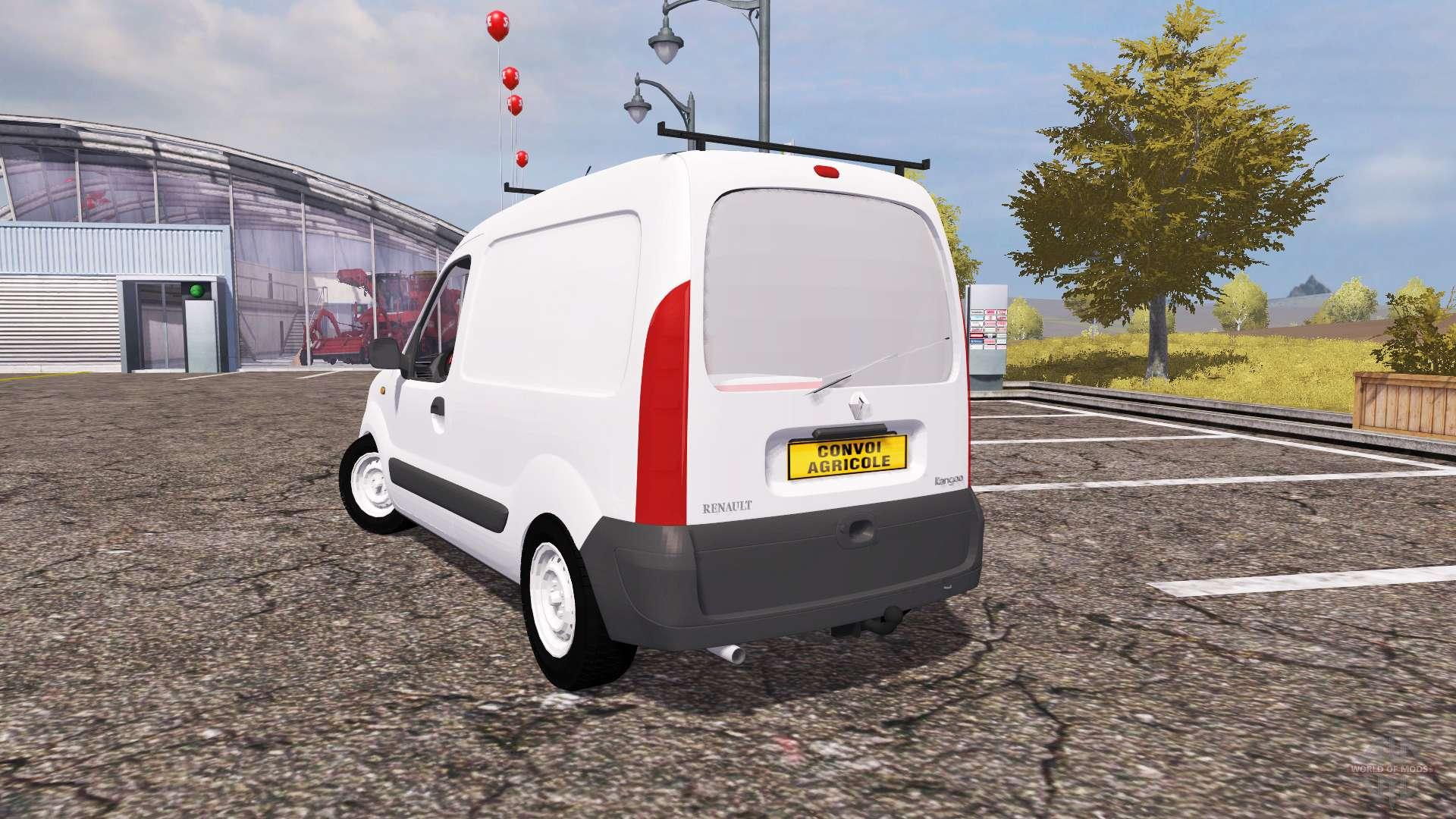 renault kangoo v2 0 for farming simulator 2013. Black Bedroom Furniture Sets. Home Design Ideas