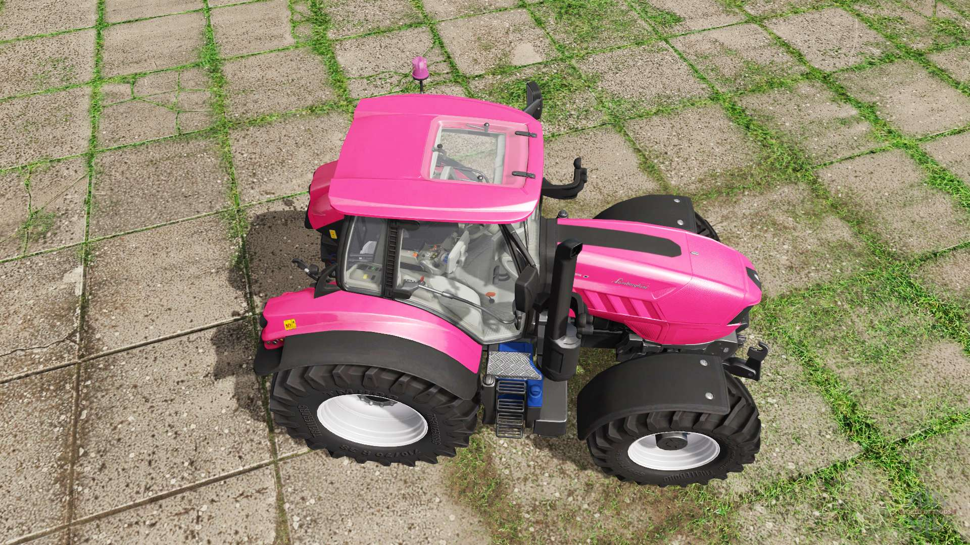 Pink Power Wheels Tractor : Lamborghini mach t i vrt pink edition for farming