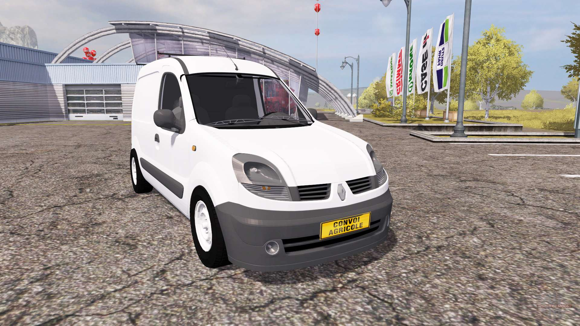 renault kangoo v2 0 for farming simulator 2013. Black Bedroom Furniture Sets. Home Design Ideas
