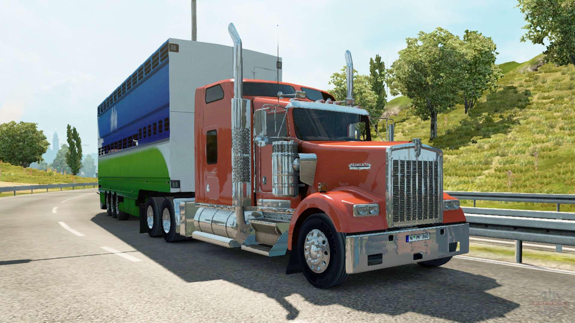 american truck traffic v1 3 for euro truck simulator 2. Black Bedroom Furniture Sets. Home Design Ideas