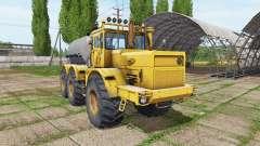 Kirovets K 701 6x6 tank