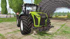 CLAAS Xerion 4000 v6.1 for Farming Simulator 2017