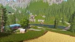 Goldcrest mountains v2.5 for Farming Simulator 2017