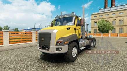 Caterpillar CT660 v1.1 for Euro Truck Simulator 2