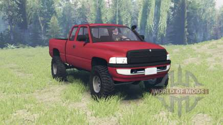 Dodge Ram 2500 Club Cab 2000 for Spin Tires