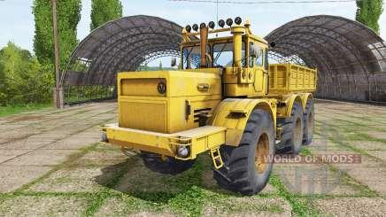 Kirovets K 701 6x6 dump truck for Farming Simulator 2017