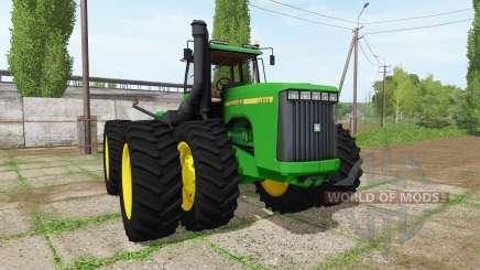 John Deere 9400 for Farming Simulator 2017