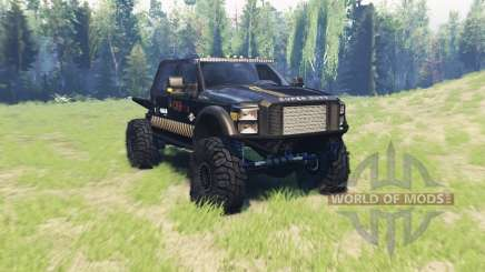 Ford F-450 TrophyStorm for Spin Tires