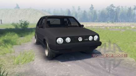 Volkswagen Golf II GTI for Spin Tires