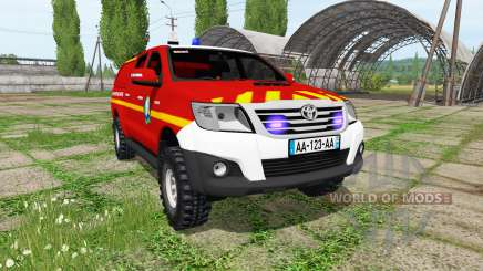 Toyota Hilux for Farming Simulator 2017