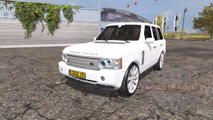 Land Rover Range Rover Supercharged (L322) 2009 for Farming Simulator 2013
