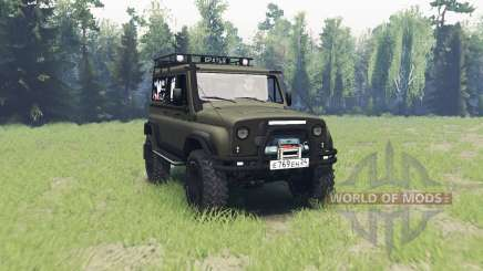 UAZ 3153 for Spin Tires