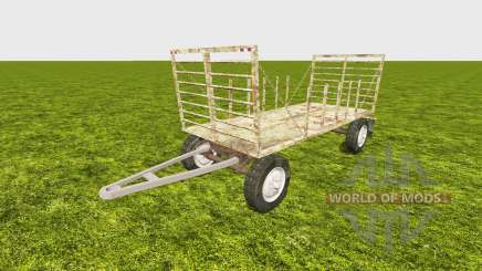 Bale trailer v2.0 for Farming Simulator 2013