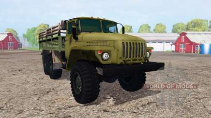 Ural 4320 v1.1 for Farming Simulator 2015