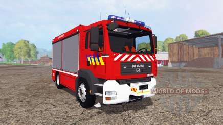 MAN TGA 28.430 Fire Rescue for Farming Simulator 2015