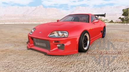 Toyota Supra engine pack v2.0 for BeamNG Drive