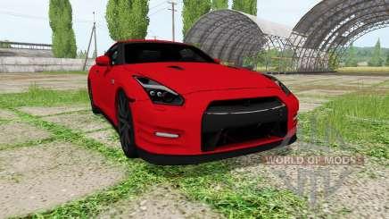 Nissan GT-R (R35) for Farming Simulator 2017