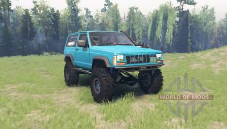 Jeep Cherokee (XJ) 1990 for Spin Tires