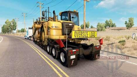 Fontaine Magnitude 55L Caterpillar for American Truck Simulator