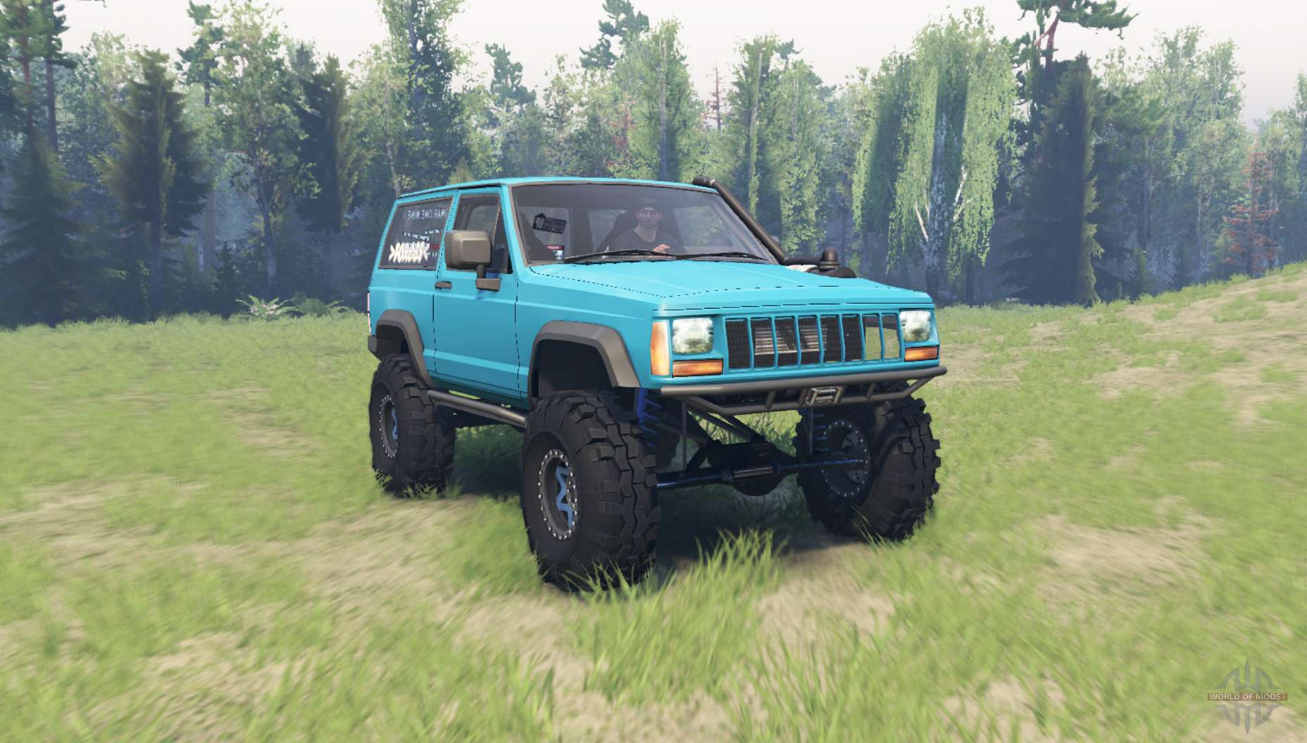 jeep cherokee xj 1990 for spin tires. Black Bedroom Furniture Sets. Home Design Ideas