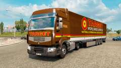 Painted truck traffic pack v2.2.2 for Euro Truck Simulator 2