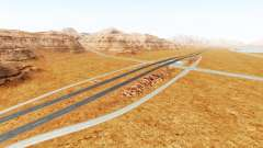 Interstate highway for BeamNG Drive
