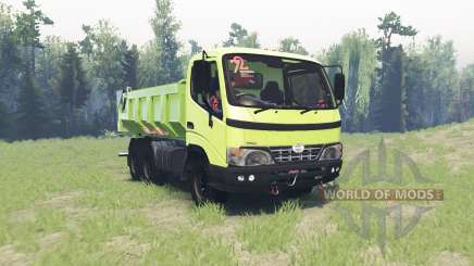 Hino Dutro for Spin Tires