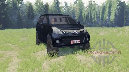 Toyota Avanza for Spin Tires