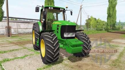 John Deere 7530 v2.5 for Farming Simulator 2017