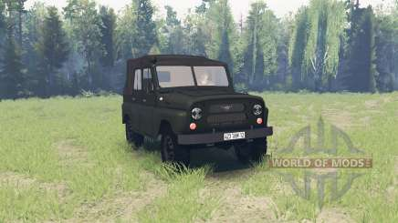 UAZ 469 1971 for Spin Tires