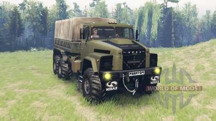 KrAZ 260 Phantom for Spin Tires