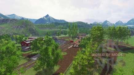 Silent valley v2.01 for Farming Simulator 2015