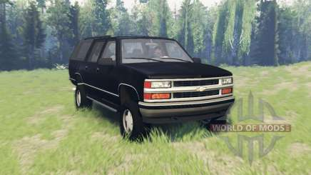 Chevrolet Suburban (GMT400) for Spin Tires