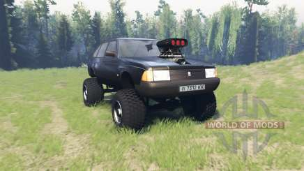 Moskvich 2141 Varan for Spin Tires