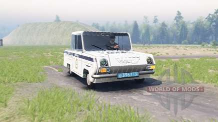 SMZ С3Д for Spin Tires